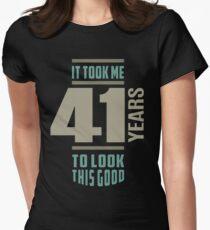 Camiseta entallada para mujer Me tomó 41 años