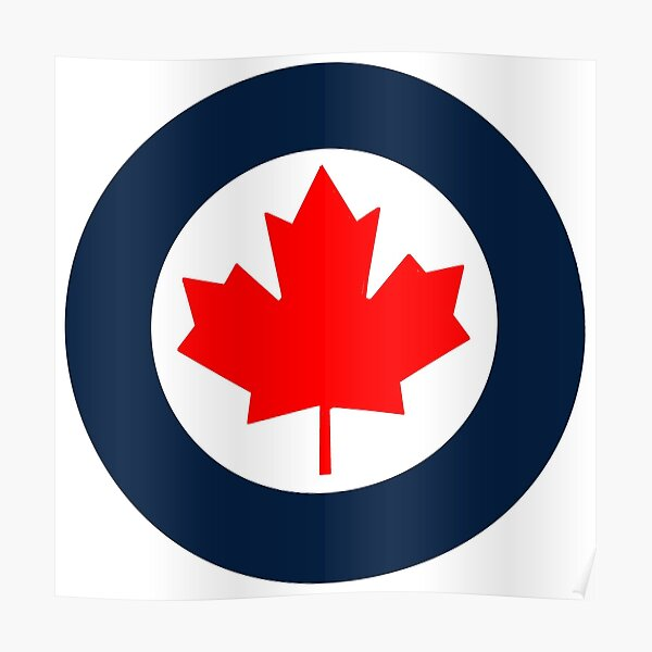 RCAF Roundel Poster