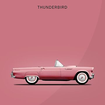 The Pink Thunderbird by rogue-design