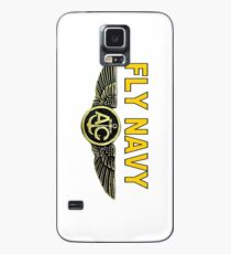 Navy Aircrew Wings Case/Skin for Samsung Galaxy