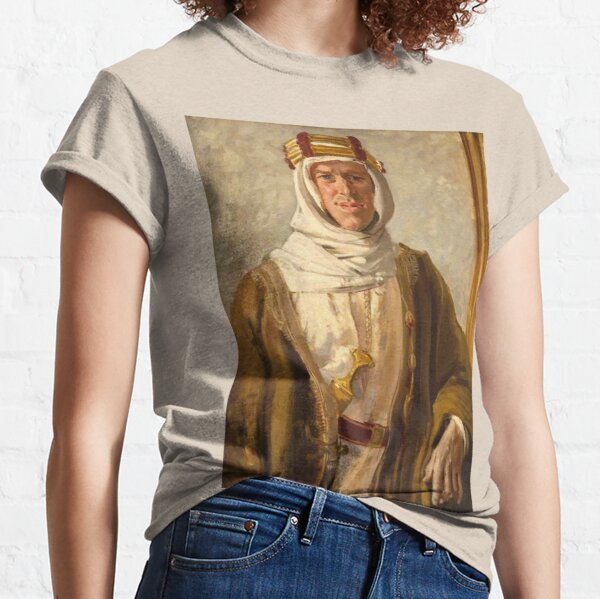 Lawrence of Arabia. Colonel T. E. Lawrence. Augustus John. 1919. Classic T-Shirt