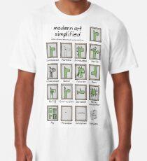 modern art simplified Long T-Shirt