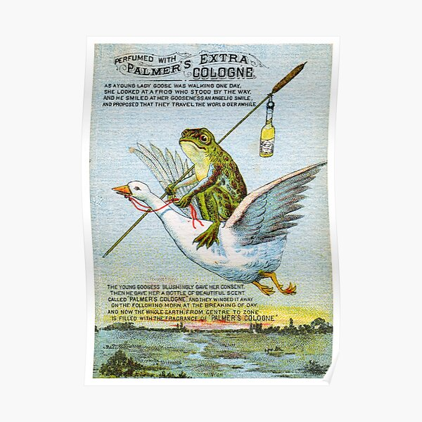 1890 Palmers Extra Cologne Poster