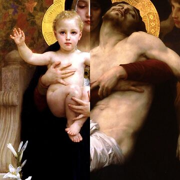 From Birth till Death, La Vierge au Lys (1899) and Pieta (1876) from William Bouguereau by Barbzzm