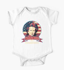 Thatcher For President One Piece - Short Sleeve