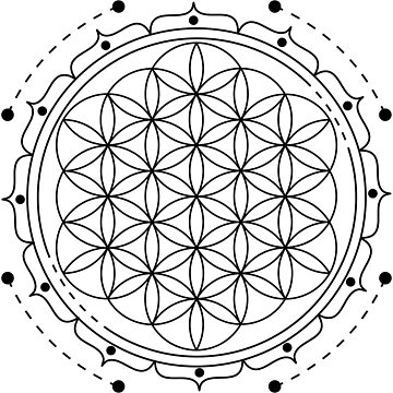 Flower of Life by Illustreats