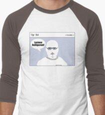 """Op"" Ed Comic strip - Lactose Men's Baseball ¾ T-Shirt"