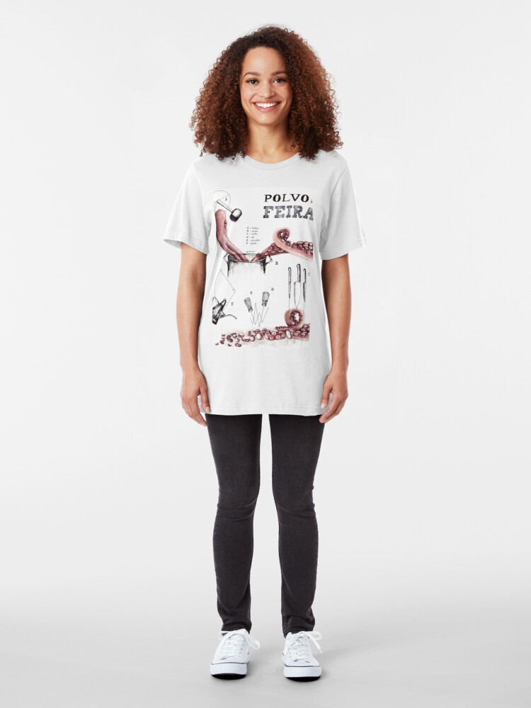 Alternate view of Polvo à Feira Slim Fit T-Shirt