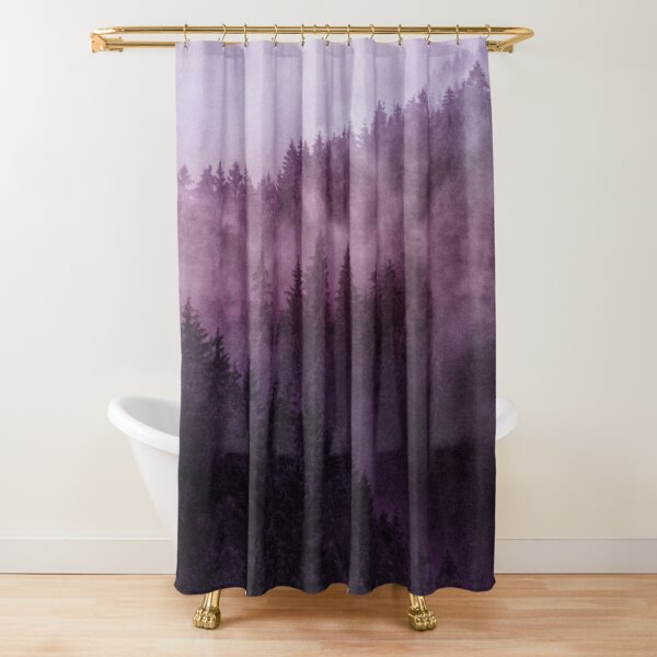 Excuse Me, I'm Lost // Laid Back Edit Shower Curtain