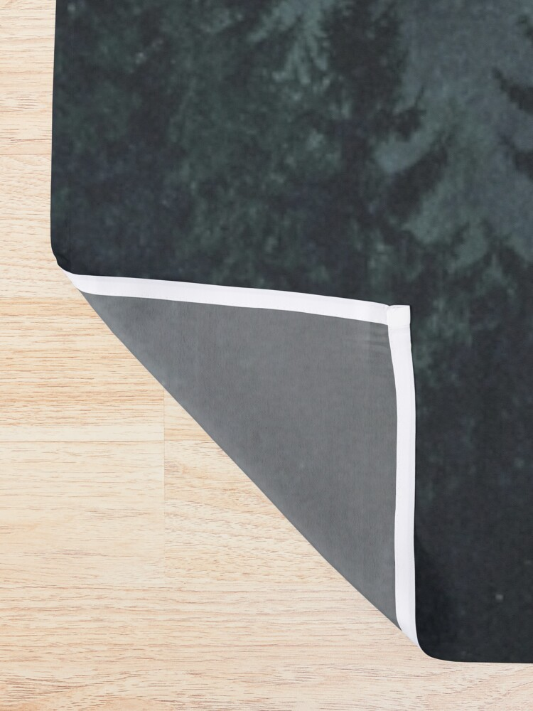 Alternate view of Mountain Light Shower Curtain
