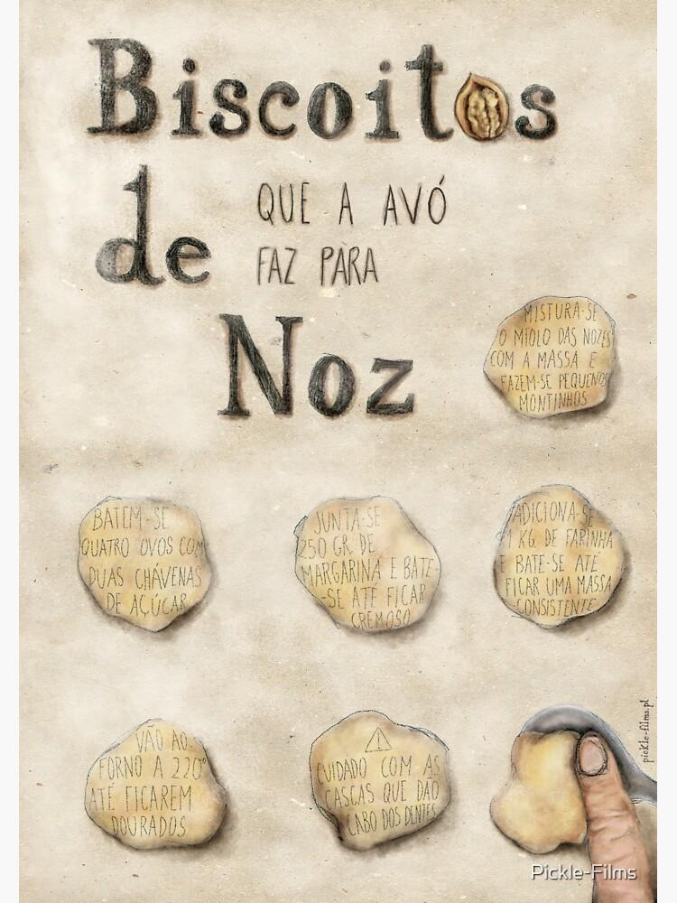 Biscoitos de Noz by Pickle-Films