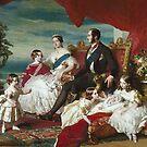 Family of Queen Victoria by Winterhalter, 1846 by edsimoneit