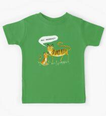 Cher tigre T-shirts enfant