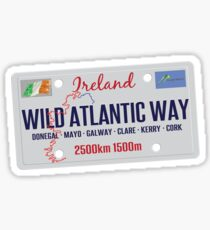 Wild Atlantic Way Ireland Sticker & T-Shirt Sticker