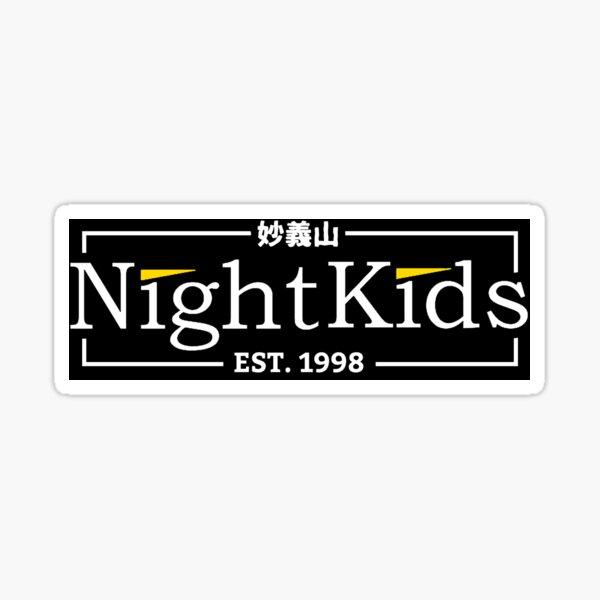 Night Kids Traditional Style Sticker
