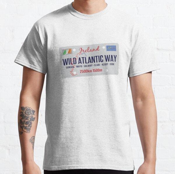 Wild Atlantic Way Ireland Sticker & T-Shirt Classic T-Shirt