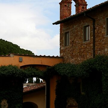 San Miniato Arches by RedShedArt