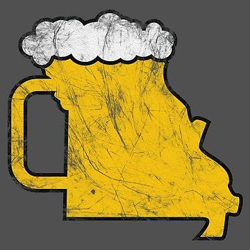 Missouri Beer Stein by AvocadoPandD