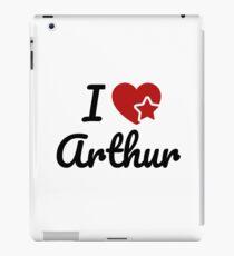 I love Arthur, I heart Arthur Soul-Mate iPad Case/Skin