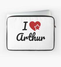 I love Arthur, I heart Arthur Soul-Mate Laptop Sleeve