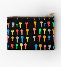The Coloured Keys to Success Studio Pouch
