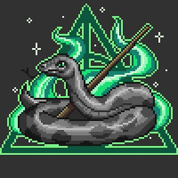 Pixel Snake by maicakes