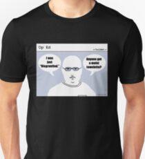 """Op"" Ed Comic strip - Disgruntled Unisex T-Shirt"