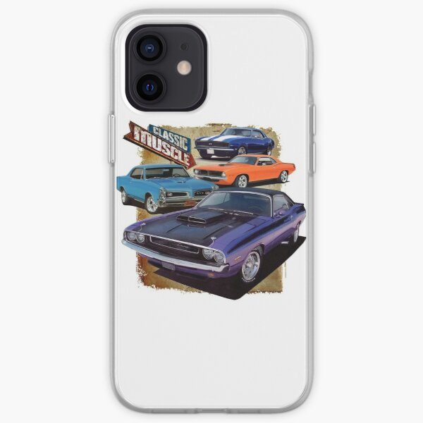 Classic Muscle Cars iPhone Soft Case