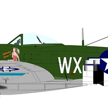 WAR BIRD, The Republic P-47 Thunderbolt by TOMSREDBUBBLE