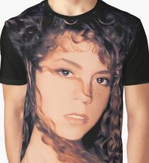 Mariah 1990 Illustration Graphic T-Shirt