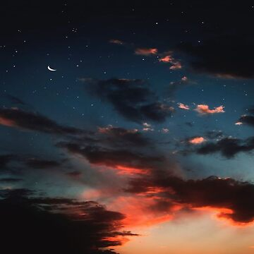 Night Sky and Stars Photography Print by lovelifetravel