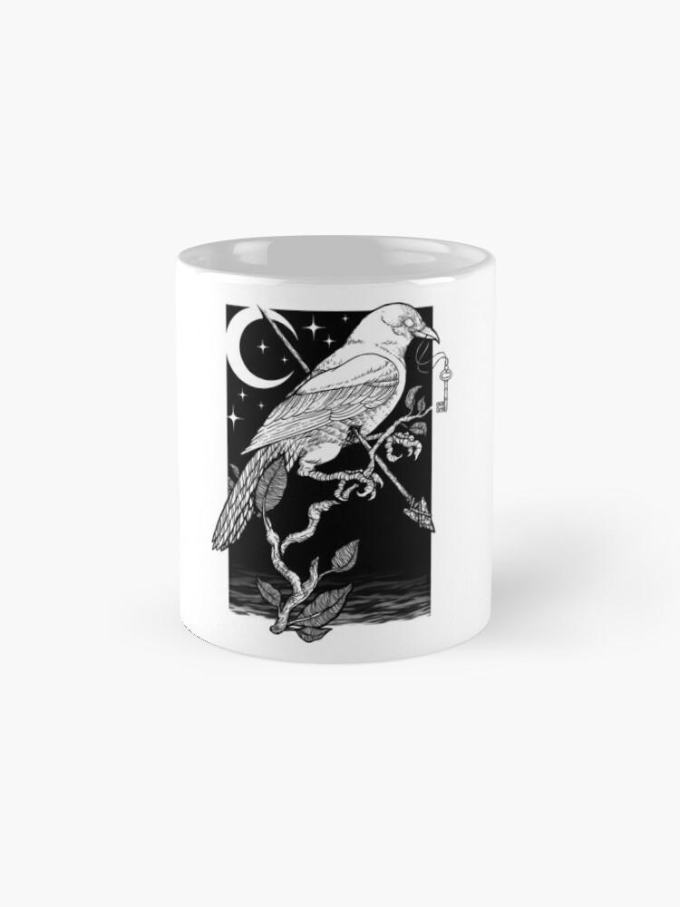 Vista alternativa de Taza Noche cuervo