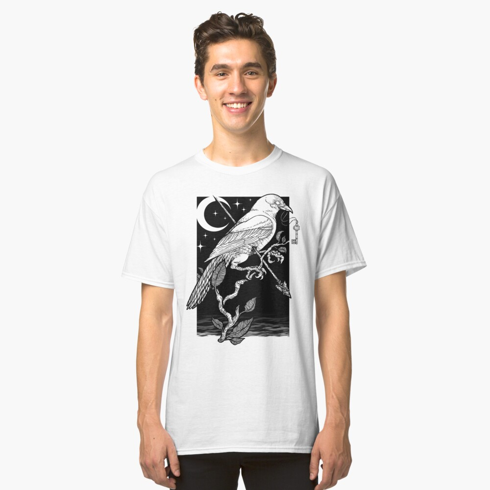 Noche cuervo Camiseta clásica