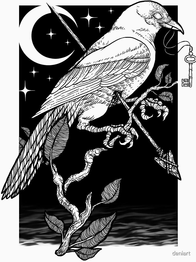 Night Crow by deniart