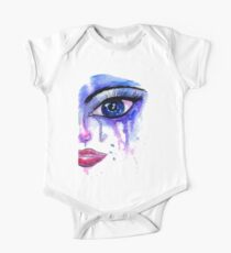 Painted Stylized Face Kids Clothes