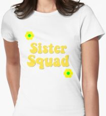 Sister Squad Women's Fitted T-Shirt