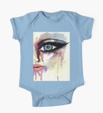 Painted Stylized Face 2 One Piece - Short Sleeve