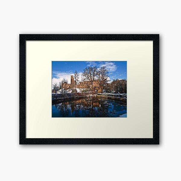 Prudhoe Castle, Northumberland, England Framed Art Print