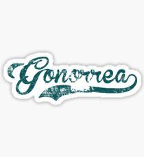 Pegatina Gonorrea
