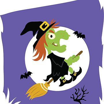 Scary Witch Halloween Kids - Little Kids Halloween - Kids Halloween - Best Halloween - Witch Halloween Shirt - Kids Cute tshirt by happygiftideas
