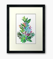 Tropical Fest Framed Print