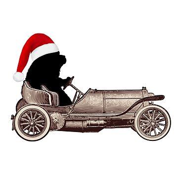 Vintage Newf Santa by itsmechris