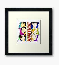Haikyuu - Rivals Framed Print