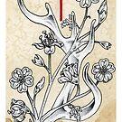 Elder Futhark 15. Elhaz by Haunting Beauty Art by hauntingbeauty