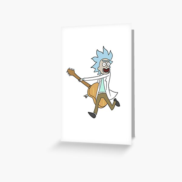 Tiny Rick! Greeting Card