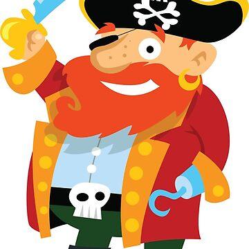 Kids Pirate - Funny Kids Pirate - Fun Kids Pirate Shirt - Kids Pirate t-shirt - Kids Pirate tee - Kids Pirates by happygiftideas