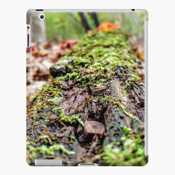 mossy rotting log iPad Snap Case