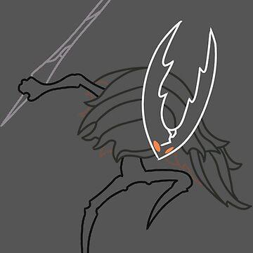 Minimalist Hollow Knight - Hollow Knight by drglovegood