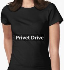 Privet Drive Women's Fitted T-Shirt