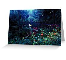 heavenly light leak, kelsey park, beckenham, u.k. Greeting Card